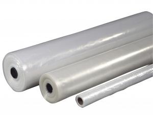 Plastik klar 2x50mx0,05mm PE 4,6kg foldet 1 gang