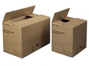 Bølgepapkasse 175x155x213mm Farligt gods kasser 4GV