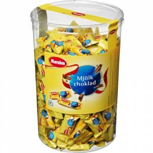 Chokolade, Marabou, Mælk, cylinder, 200 stk,