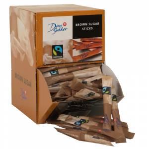 Rørsukker, Dansukker, i sticks, displayboks