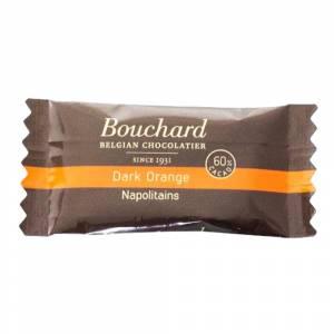 Chokolade, Bouchard mørk orange, 5 g,