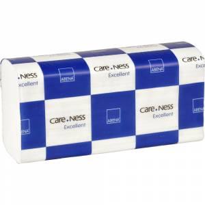 Håndklædeark, neutral, 2-lags, nonstop, 24x23,5cm, 8 cm, hvid, 100% nyfiber