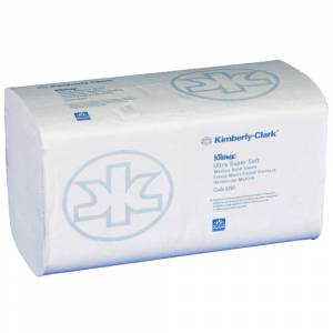 Håndklædeark, Kimberly-Clark Kleenex, 3-lags, interfold, 31,5x21,5cm, 10,5 cm, hvid, blandingsfibre