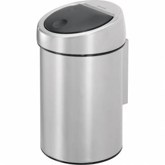 Hygiejne beholder, Brabantia Touch bin, 3 l, stål mat, inderspand i plast, ingen fingeraftryk