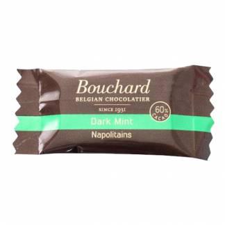 Chokolade, Bouchard mørk mint, 5 g,