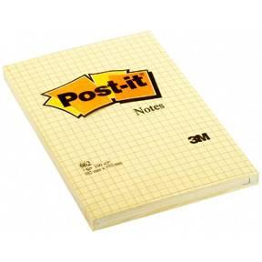 Post-it Notes 102x152 kvadreret gul (6)