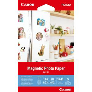 10x15 MG-101 Magnetic Photo Paper, 5 sheets