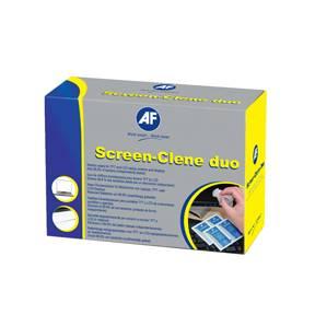 AF Screen-Clene Duo - Skærmrens våd- og tørservietter (20stk)