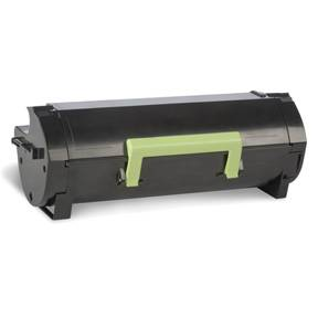 Lexmark 502U Lasertoner 50F2U00 Return (20k) - Sort