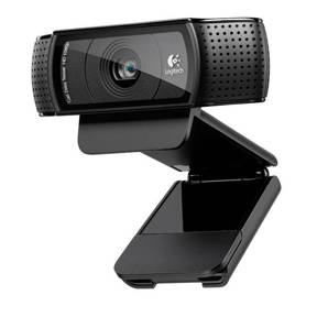 Logitech HD PRO WEBCAM C920 - Sort