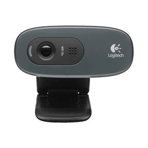 Logitech HD WEBCAM C270 - Sort