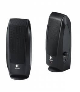 Logitech S120 2.0 Stereohøjtalere t/ hovedtelefonstik
