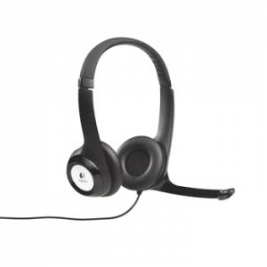 Logitech H390 USB Headset, Sort