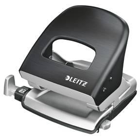 Hulapparat Leitz Style 5006 2-huls t/30ark - Satin sort
