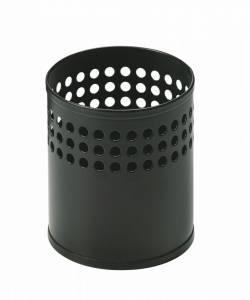 Blyantsbæger RM 023 metal Mat sort H:9,7cm Ø8,5cm