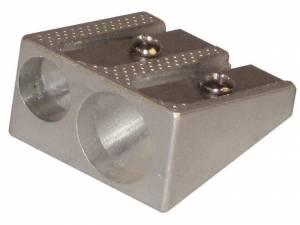 Blyantspidser Office DEPOT dobbelt aluminium