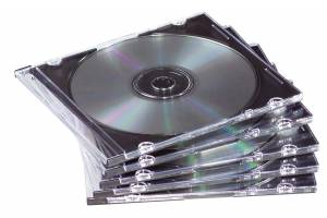 CD/DVD Slimline case Fellowes 98316 25stk/pak