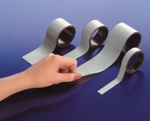 Magnetbånd 25mmx30m brun 1,5mm almindelig