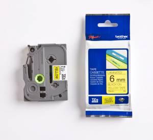 Brother TZe tape 6mmx8m black/yellow