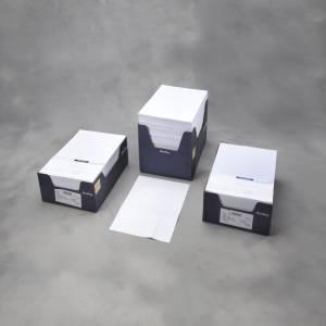 Faktura papir med FIK-kort blå A4 1000stk/pak 26051