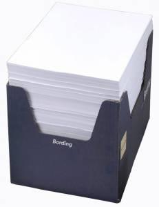 Fakturapapir m/giroperforering hvid A4 2000stk/pak 24101