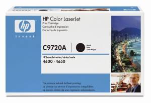 HP 641A LaserJet-toner (C9720A) Original - SORT