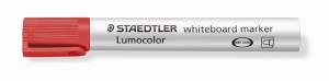 Whiteboardmarker Staedtler rød Lumocolor 2,0mm 10stk/pak