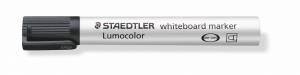 Whiteboardmarker Staedtler sort Lumocolor 2,0mm 10stk/pak