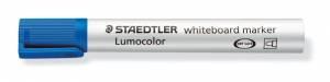 Whiteboardmarker Staedtler blå Lumocolor 2,0mm 10stk/pak