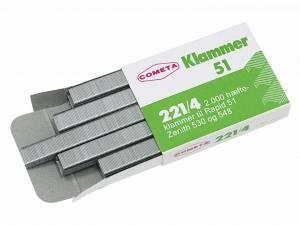 Hæfteklammer tin Cometa 221/4 2000stk/pak