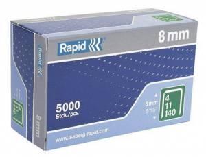 Hæfteklammer Rapid 140/8 5000stk/pak