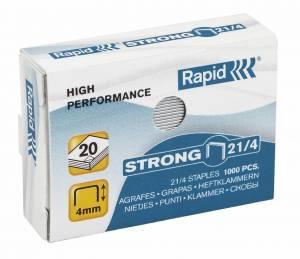 Hæfteklammer galvaniseret 21/4 Rapid strong - 1000stk/pak
