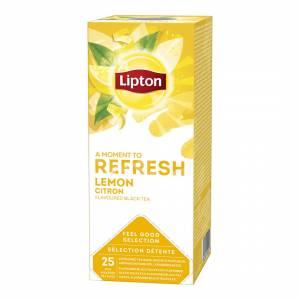 Te Lipton Lemon - 6æsk. á 25 breve
