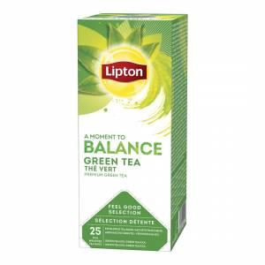 Lipton Grøn Te - 6æsk. á 25 breve