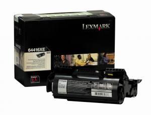 Lexmark T644 Lasertoner 64416XE Return (32k) - Sort