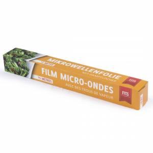Mikrobølgeovnsfilm microperforeret i dispenserbox 30cmx20m