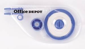 Korrekturroller Office DEPOT klar 4,2mmx8,5m Sideway