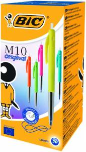 Kuglepen Bic Clic blå Medium M10 Ultra Colors