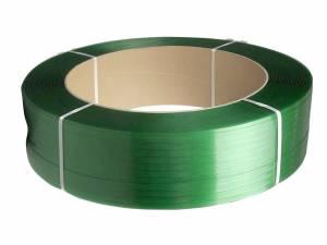 Strapbånd PET 19 x 0,85mm x 1200M (Ø:406) - Grøn