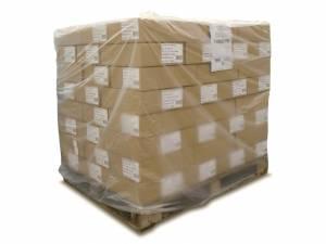 Pallehætte Klar 45my LDPE til 1/1 palle - 120/45x150cm