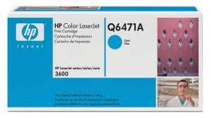 HP 502A Laserjet-toner (Q6471A) Original - CYAN
