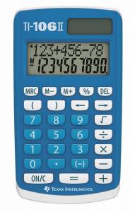 Texas instruments TI-106 lommeregner