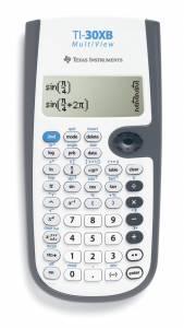 Matematikregner Texas TI-30XB MultiView