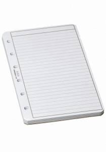 Bantex Løsblade til lommeringbog str. 3 & 3,5 - pk. a 50 blade (5340)