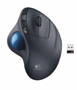 Logitech M570 Trackball trådløs mus grafit/blå