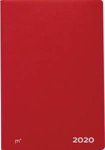 Mayland City Diplomat 2020 ugekalender 17x24,5cm rød vinyl