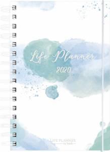 Life planner Diary kalender blå 20 2261 00