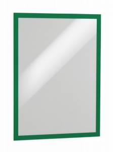 Selvklæbende magnetisk DURAFRAME® A3 Grøn - 2 stk/pk