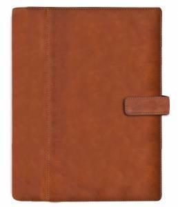 Mayland System A5 2019 Ugekalender højformat brun skind