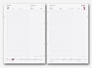Mayland System A5 2019 REFILL Dagkalender m/multihuller